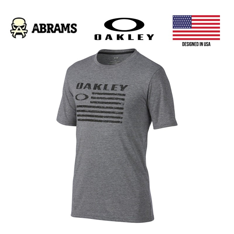 Футболка Oakley O-Flag Shirt Grey