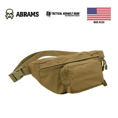 Сумка на пояс Fanny Pack Tactical Assault Gear E&E Bag Coyote