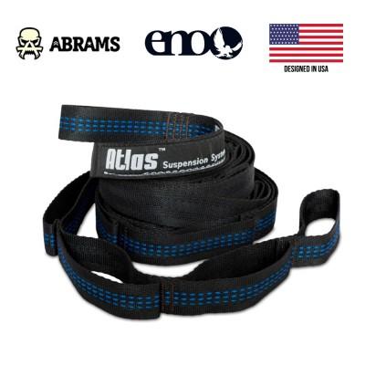 Подвесная система стропы ENO Atlas Hammock Suspension System 180 кг