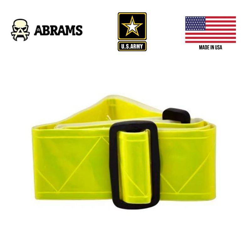 Светоотражающий желтый пояс армии США Belt High Visibility Neon Yellow Vinyl