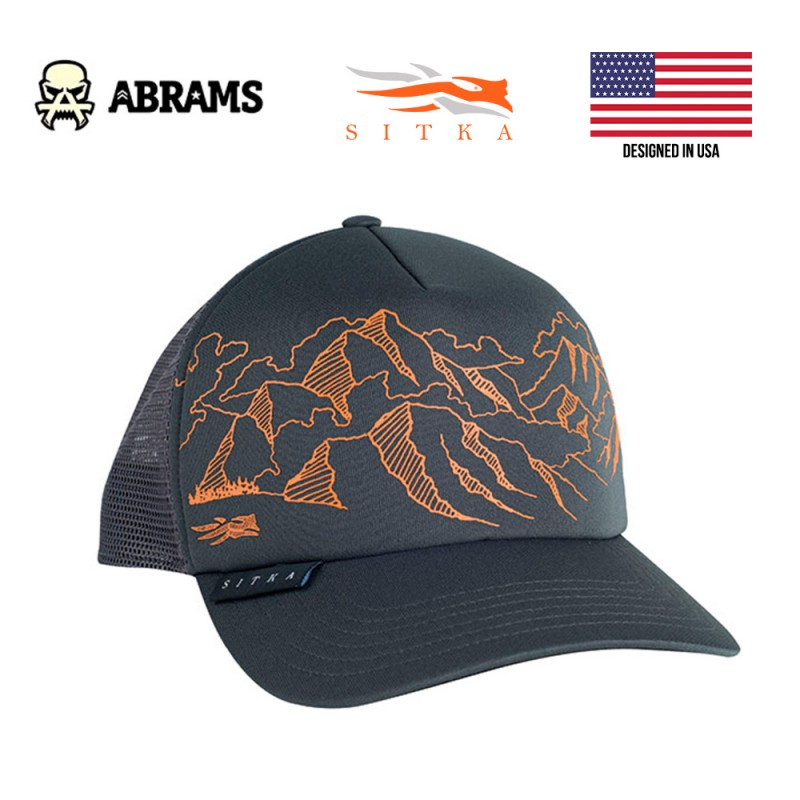 Кепка SITKA Mountain Sketch Foam Trucker