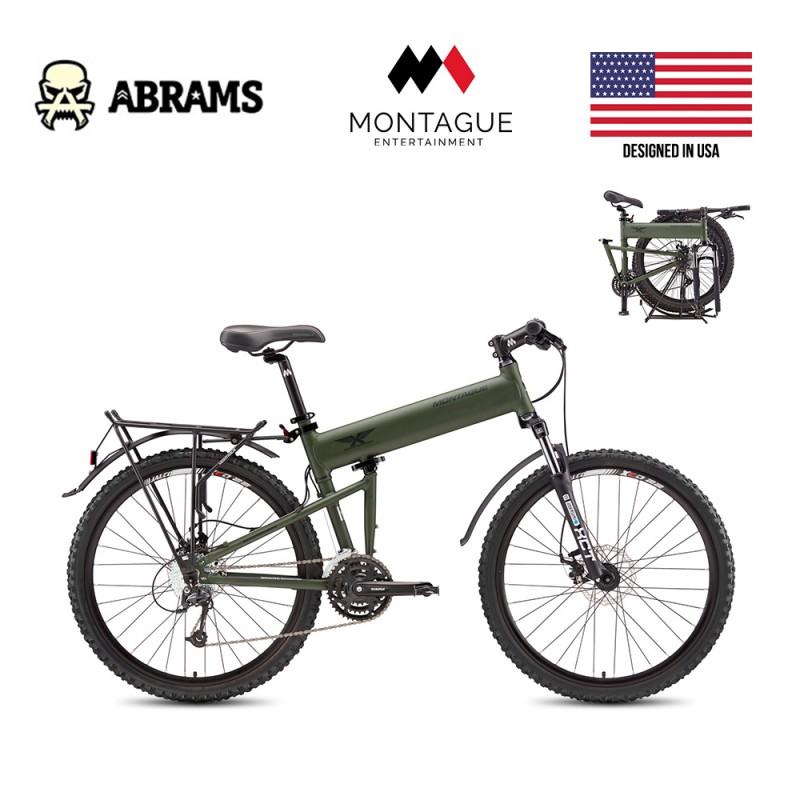 Тактический горный складной десантный велосипед Montague Paratrooper (ПОД ЗАКАЗ)