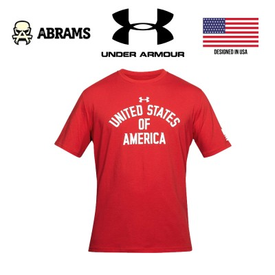 Футболка Under Armour Stars & Stripes Verbiage