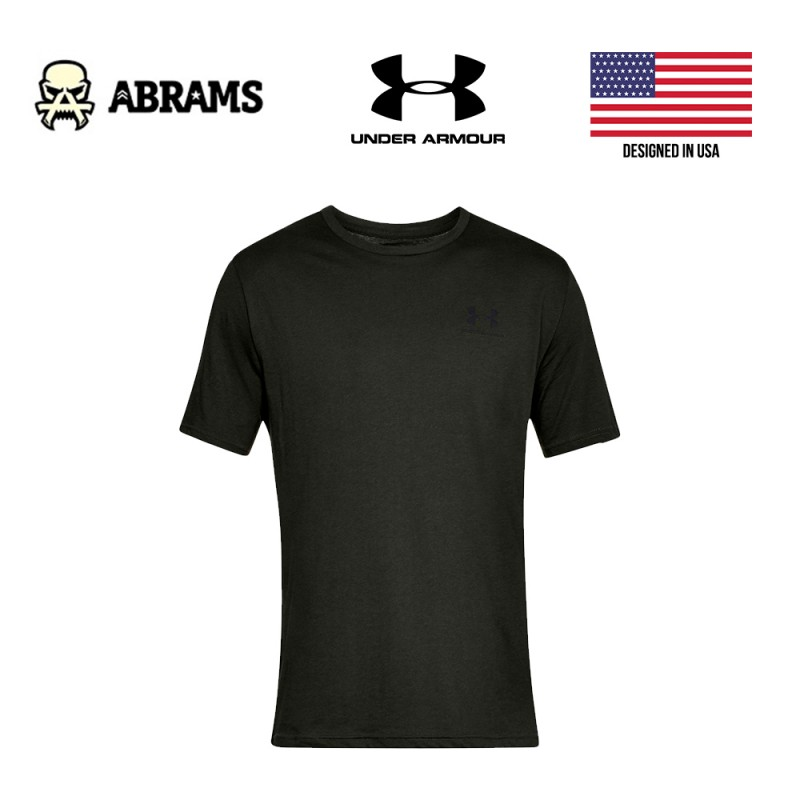 Футболка Under Armour Sportstyle Left Chest Dark Green