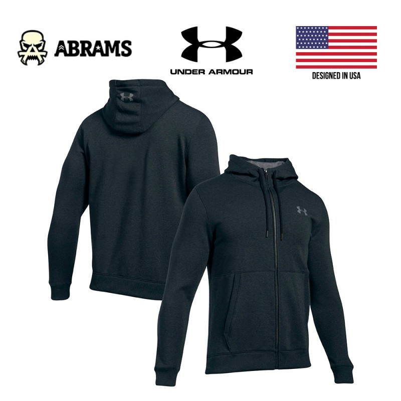 Худи реглан кофта Under Armour Threadborne Fleece Full Zip Training Hoodie