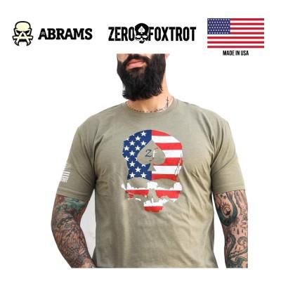 Футболка Zero Foxtrot Americana