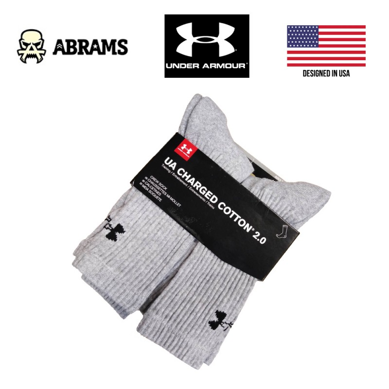 Носки Under Armour Charged Cotton 2.0 - 6-Pack