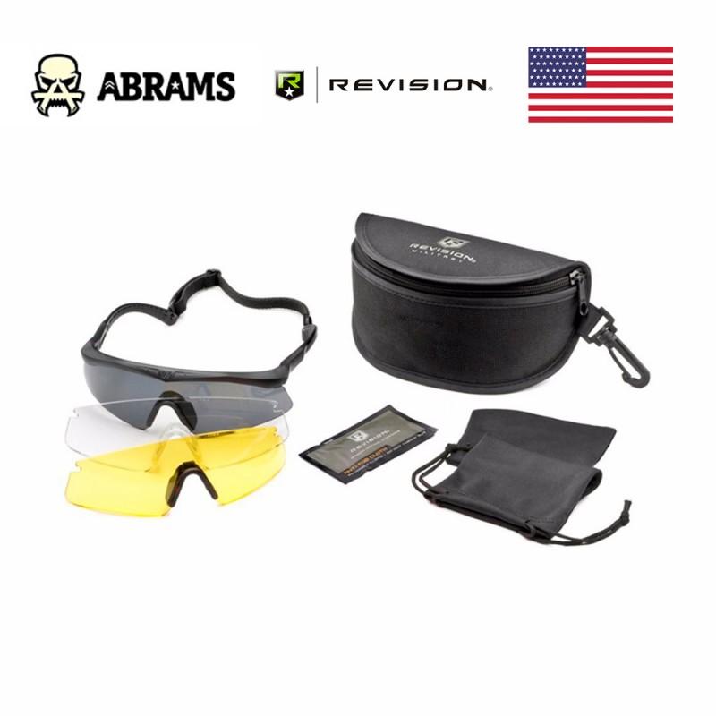 Тактические баллистические очки Revision Sawfly Eyewear Deluxe Kit - 3 линзы