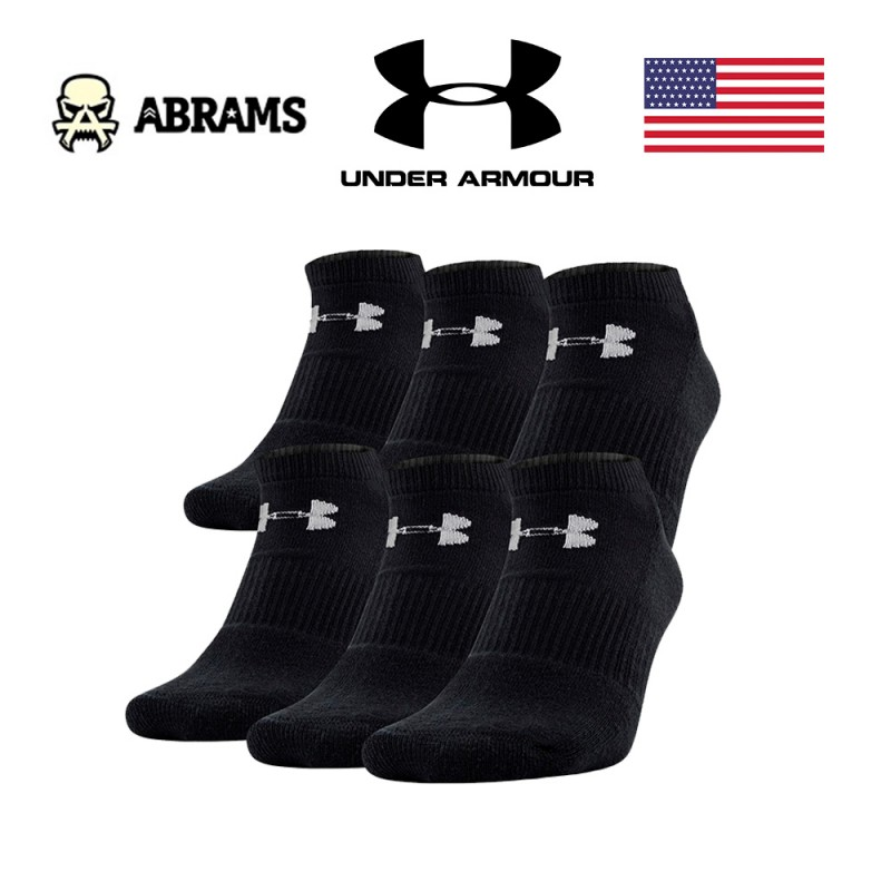 Носки Under Armour Charged Cotton® 2.0 No Show – 6-Pack (6 пар)