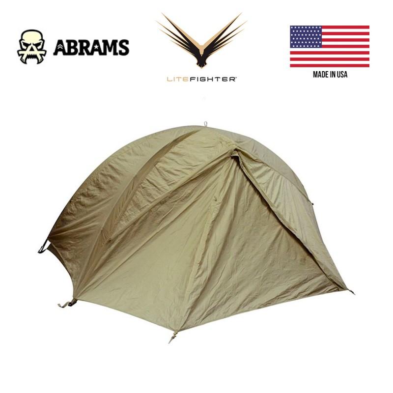 Намет військовий одномісний США LiteFighter 1 Shelter System Coyote Tan 499