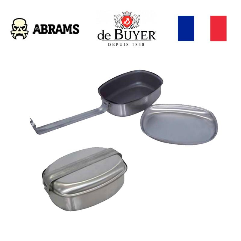 Походная универсальная сковорода-тарелка De Buyer
