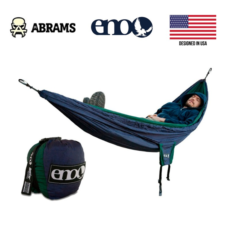 Гамак ENO Reactor Hammock - Navy/Forest Green
