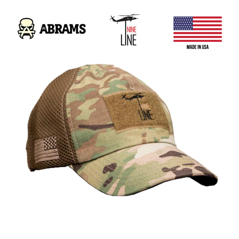 Кепка Nine Line American Made Mesh Back Hat with Drop Line