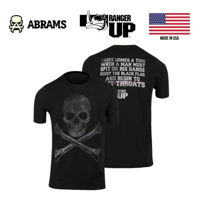Футболка Ranger Up Hoist The Black Flag Veteran Military Black
