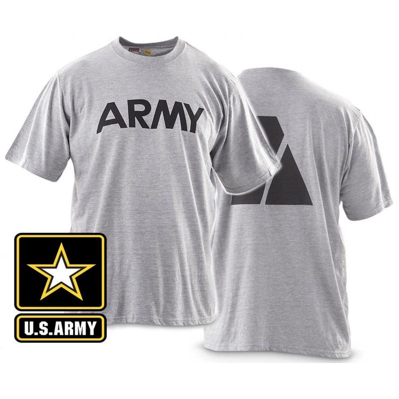 Футболка для занятий спортом US ARMY PT Shirt Reflective Logo