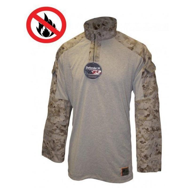 Боевая рубашка Combat Shirt USMC  - Desert Marpat