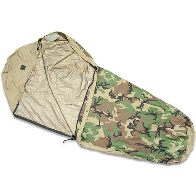 Чехол для спального мешка Woodland Camouflage Waterproof Bivy Cover Gore-Tex USA