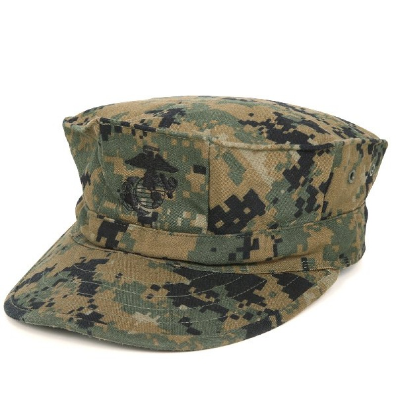 Кепка Garrison Cap USMC Marine - Marpat Woodland