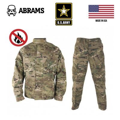 Униформа армии США негорючая с антимоскитной пропиткой Multicam