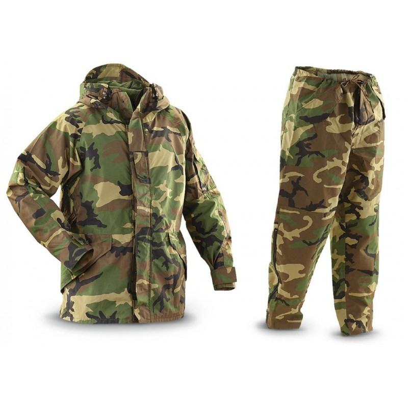Комплект куртка + штаны Gen II  Woodland Gore-Tex