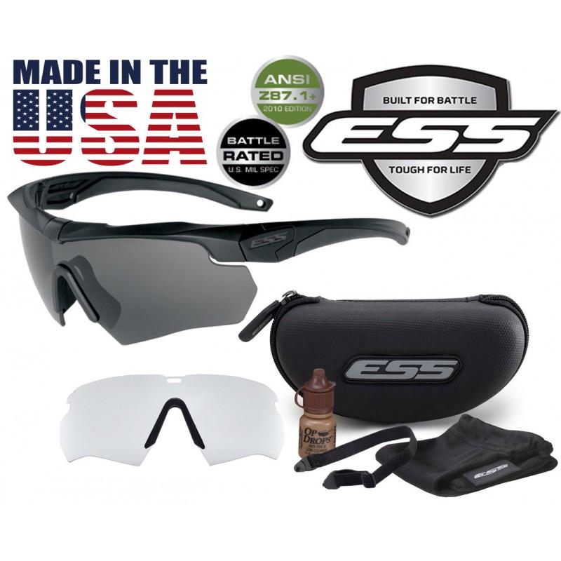 Тактические баллистические защитные очки ESS Crossbow 2Х - оригинал Made in USA