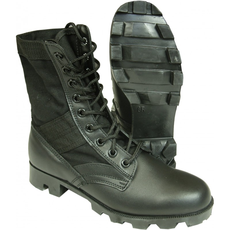 Ботинки Panama Spike Protective Jungle Boots - Black