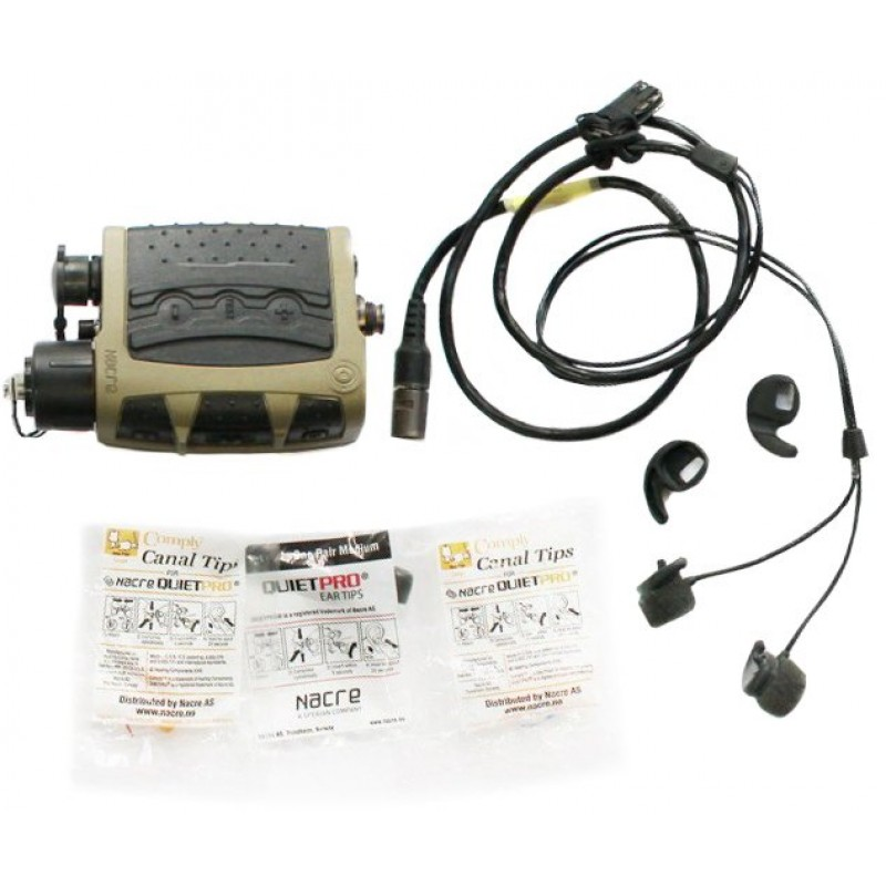 Активная гарнитура Nacre Quietpro In-Ear Communication Headset