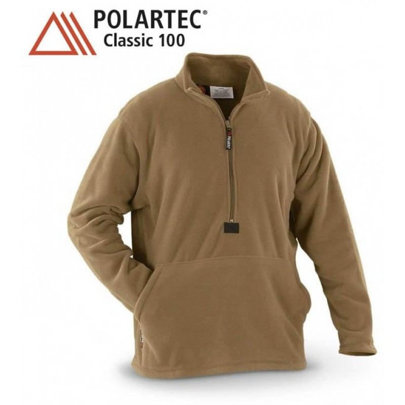 Флис USMC Polartec Classic 100 Coyote Brown