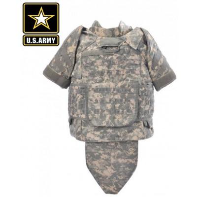 Бронежилет американский кевларовый армейский IOTV - ACU  Б/У