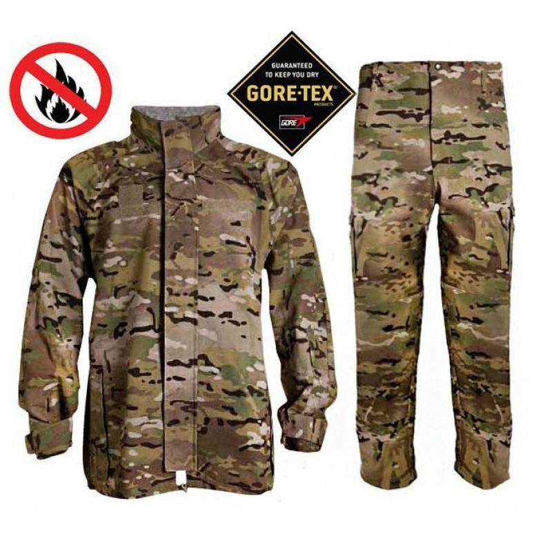 Комплект негорючий куртка и штаны Gen III Level 6 Gore-Tex FREE EWOL - Multicam