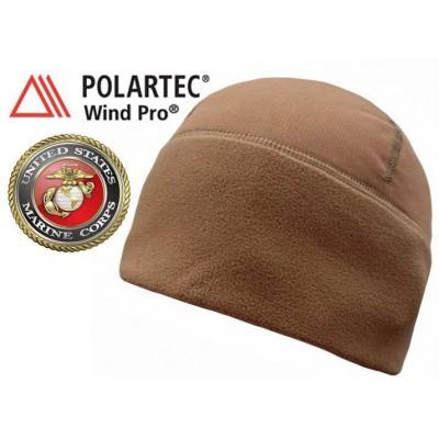 Шапка ветростойкая Polartec® Wind Pro Hardface USMC COYOTE BROWN