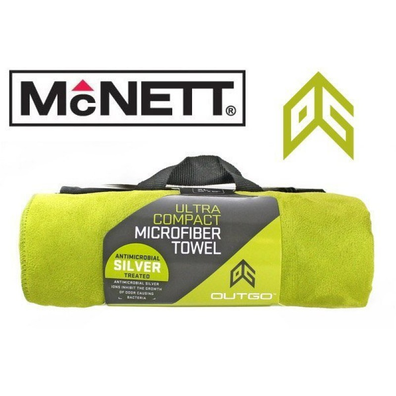 Полотенце McNett Out&Go Ultra Compact Microfiber Towel OG Green - M