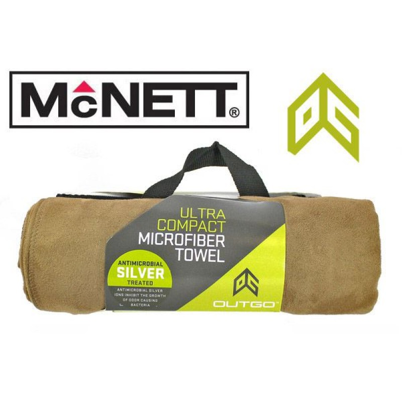 Полотенце McNett Out&Go Ultra Compact Microfiber Towel - Mocha Large