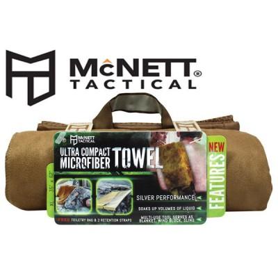Полотенце McNett Tactical Ultra Compact Microfiber Towel XL - Coyote
