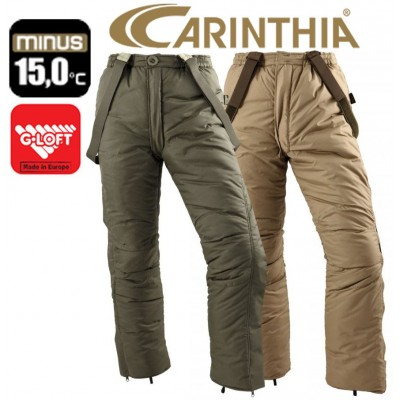 Штаны зимние двусторонние Carinthia G-Loft Reversible Trousers - Sand/Olive