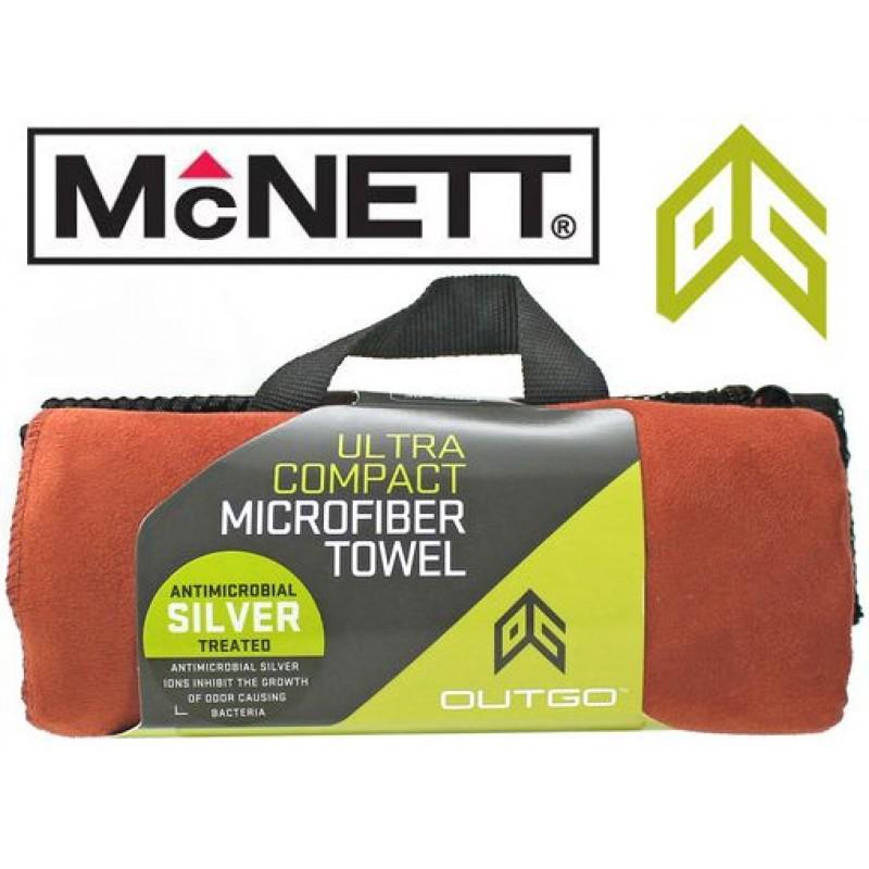 Полотенце McNett Out&Go Ultra Compact Microfiber Towel XL - Terra Cotta