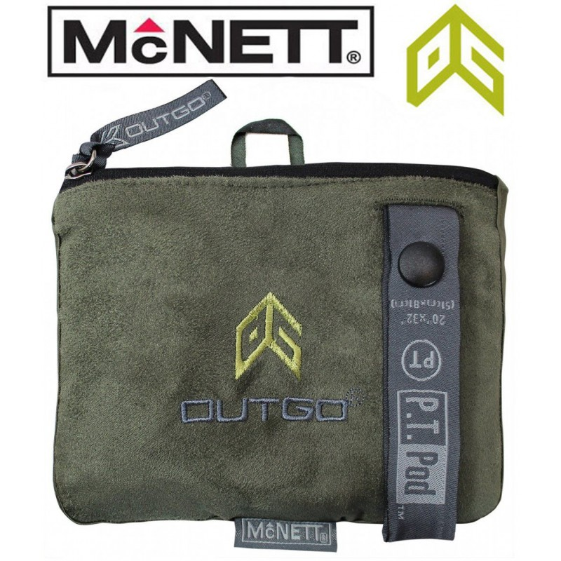 Полотенце McNett Out&Go PT Pod Packable Microfiber Towel - Moss