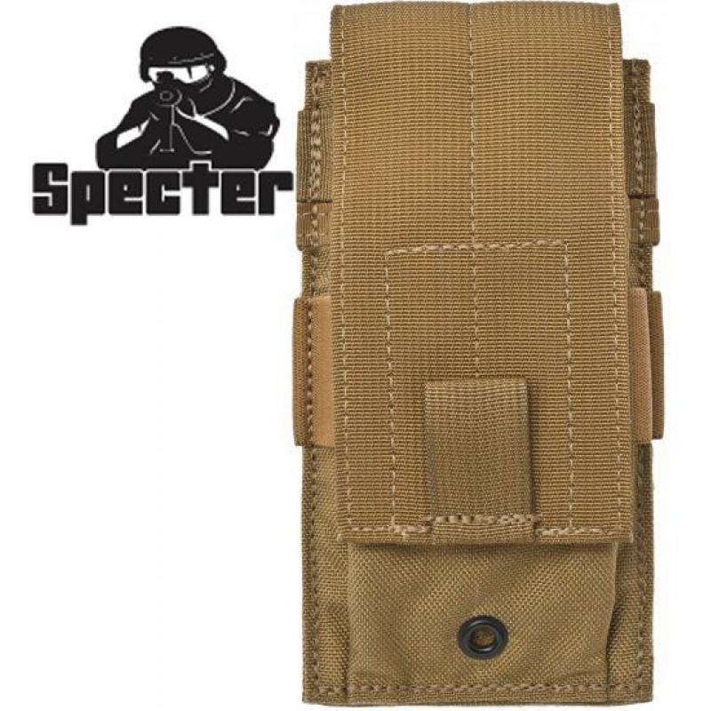 Подсумок Specter Gear Single Universal Rifle, Carbine, SMG Mag Pouch Coyote