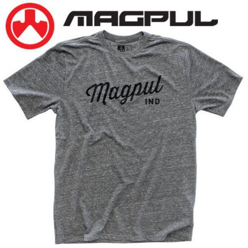 Футболка Magpul Megablend Rover Script T-Shirt Athletic Heather XL