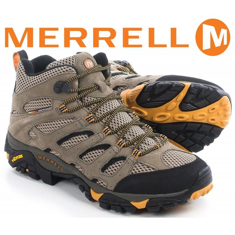 Ботинки Merrell Moab Ventilator Mid - Walnut  US 10