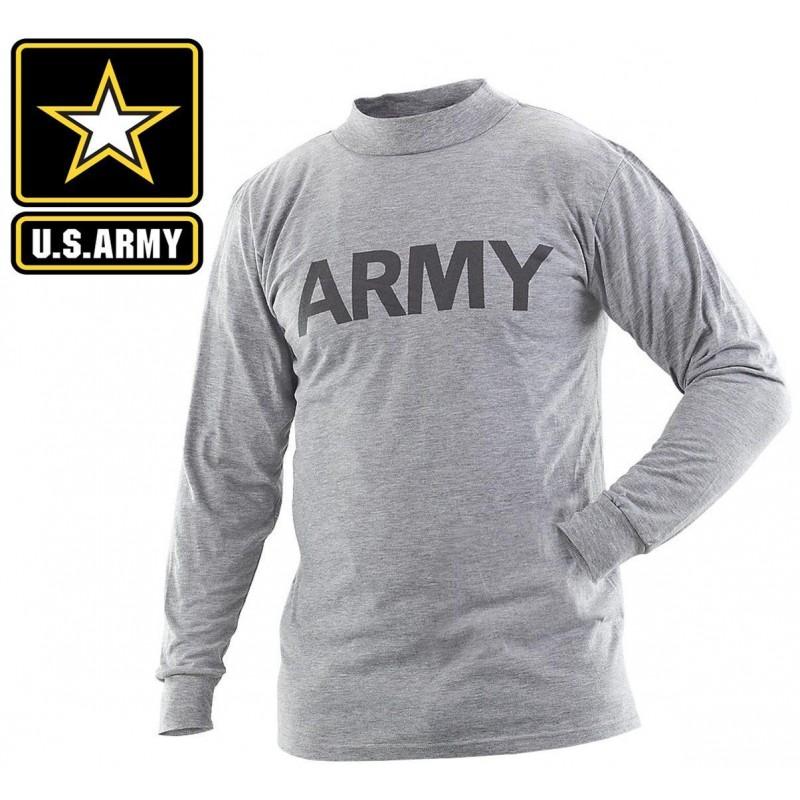 Тренировочная кофта с длинным рукавом US ARMY IPFU Long Sleeve