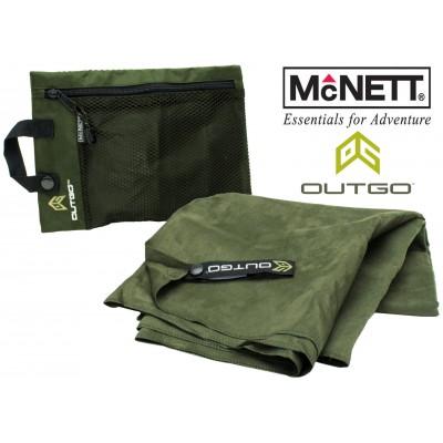 Полотенце McNett Out&Go Ultra Compact Microfiber Towel XL - Moss