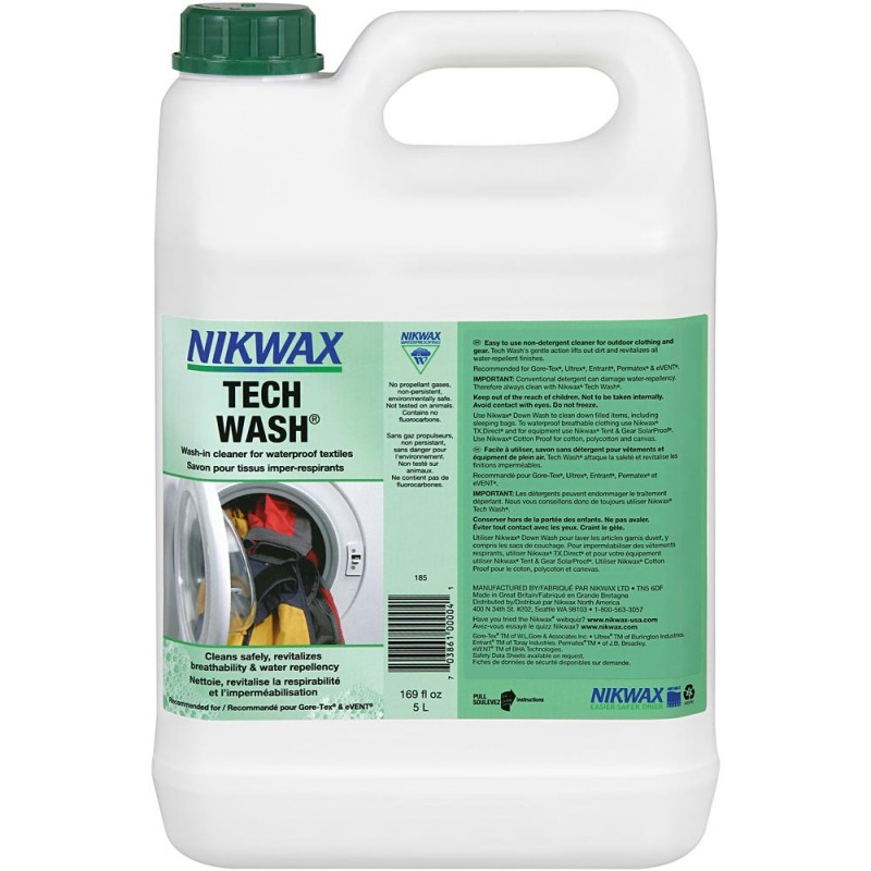 Средство для стирки мембран Nikwax Tech Wash 5L