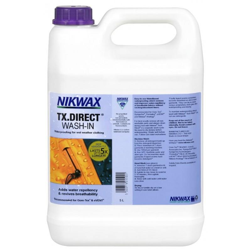 Пропитка для мембран Nikwax TX.Direct Wash-In 5L