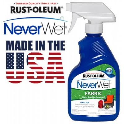 Защитный водоотталкивающий спрей NeverWet Rust-Oleum Fabric
