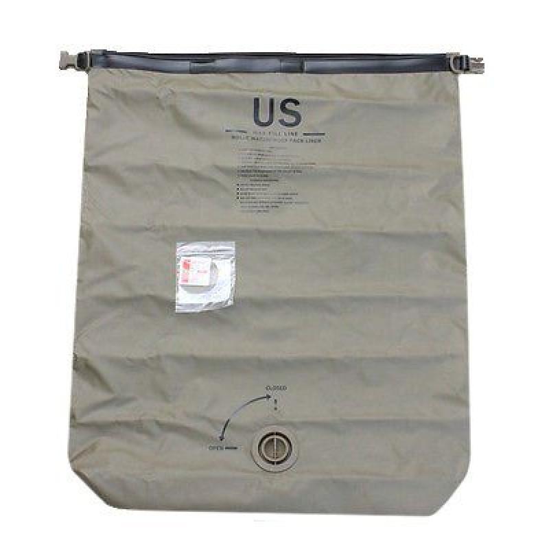 Компрессионный водонепроницаемый мешок-лайнер Molle Waterproof Pack Liner 65L