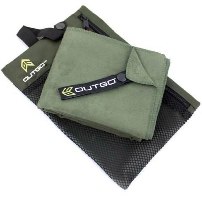 Полотенце McNett Out&Go Ultra Compact Microfiber Towel M - Moss