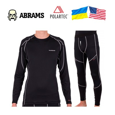 Термобелье Polartec Fahrenheit Level 1 Power Dry Active Black комплект