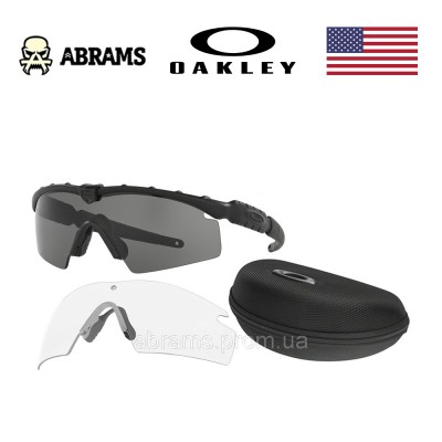 Очки тактические баллистические Oakley SI Ballistic M Frame 2.0 Strike Array with Black Frame & Clear Lenses