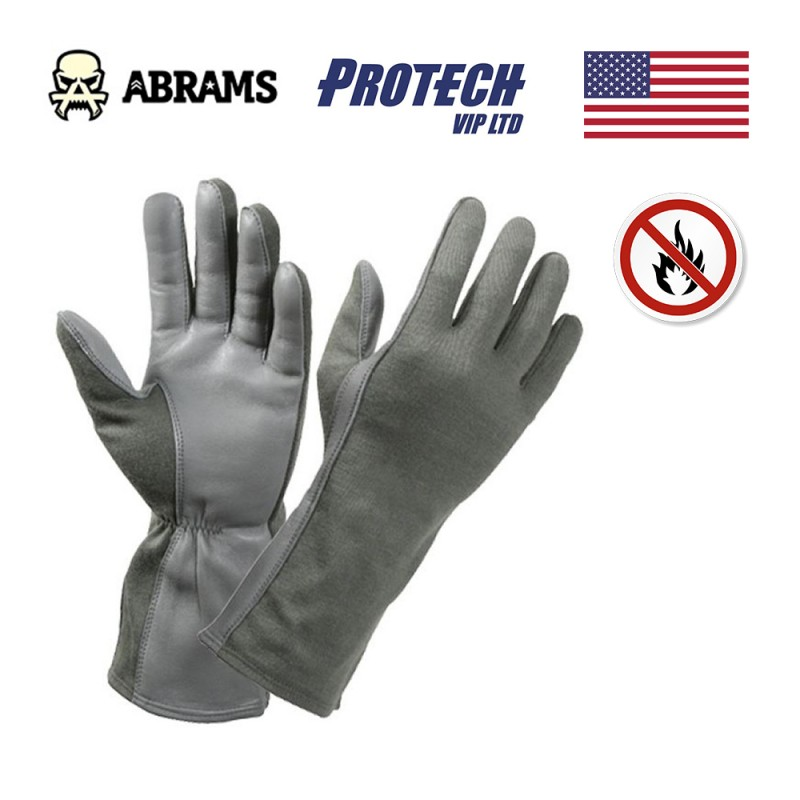 Перчатки военные Protech Nomex flyers gloves летные - Green (Flight Gloves)